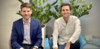 Philippe Mangematin et Stephen Leguillon, respectivement président d'honneur et CEO de Seyna