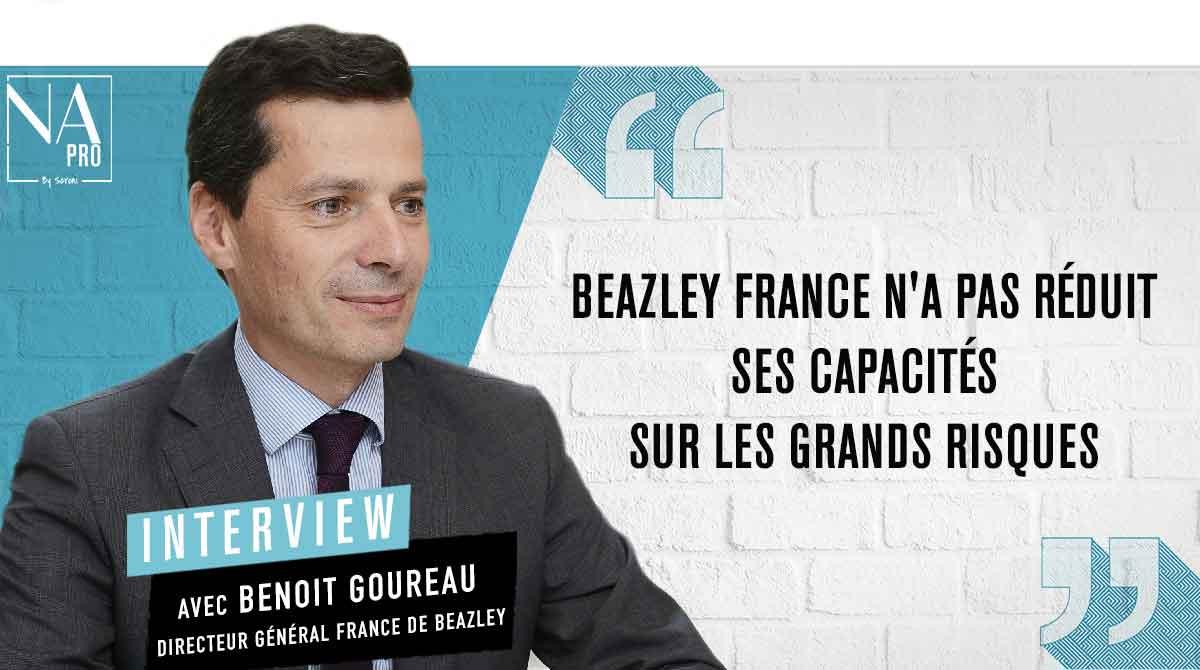 """Benoit Goureau : """"Beazley France n"""