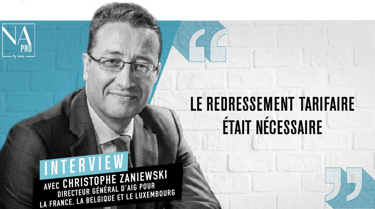 """Christophe Zaniewski : """"Le redressement tarifaire était nécessaire"""""""