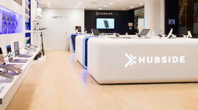 Une boutique Hubside à Lille.