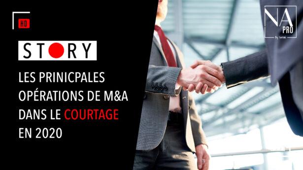 Story : Les principales opérations de M&A dans le courtage en 2020