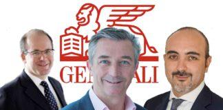 Bruno Servant, Tim Rainsford et Francesco Martorana (de gauche à droite), prennent de nouvelles fonctions chez Generali.
