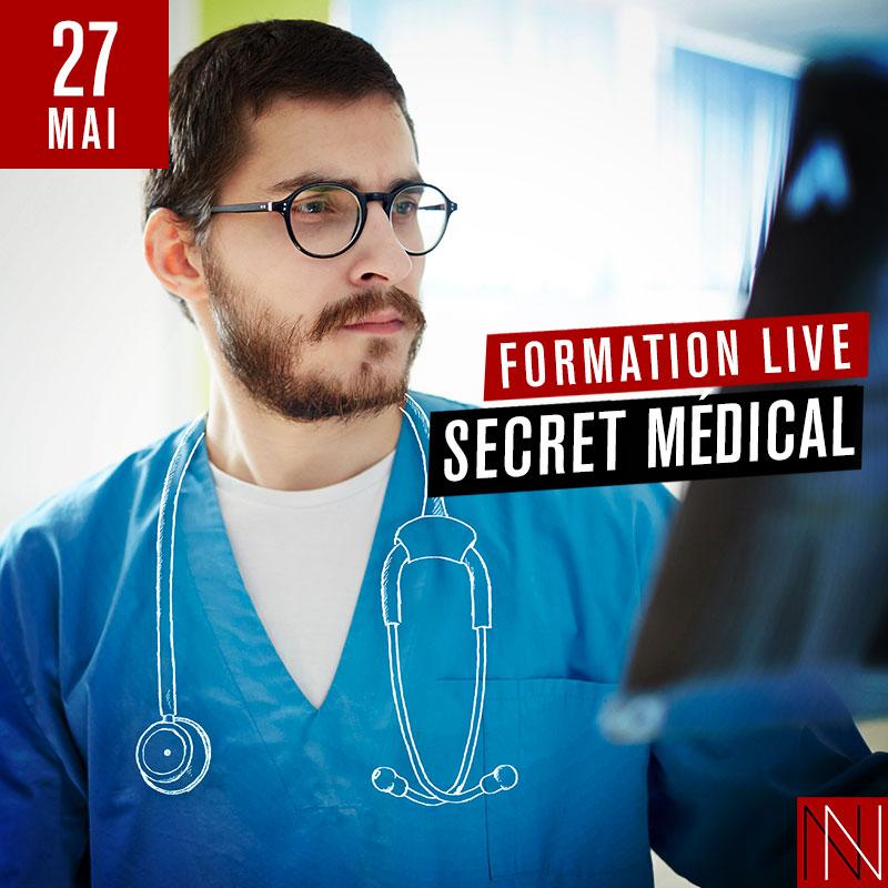 ANNIE - Formation Live : Secret Médical