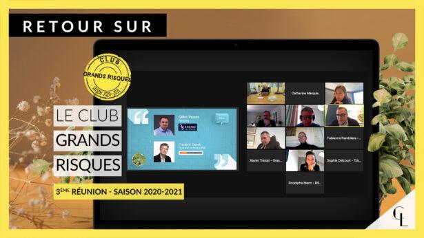 Cercle Lab : Retour sur la 3ème réunion du club Grands Risques (saison 2020-21)