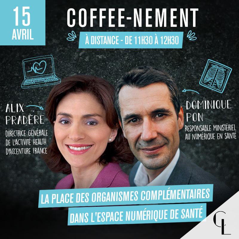 Coffee-nement - La place des organismes complémentaires dans l'Espace numérique de santé