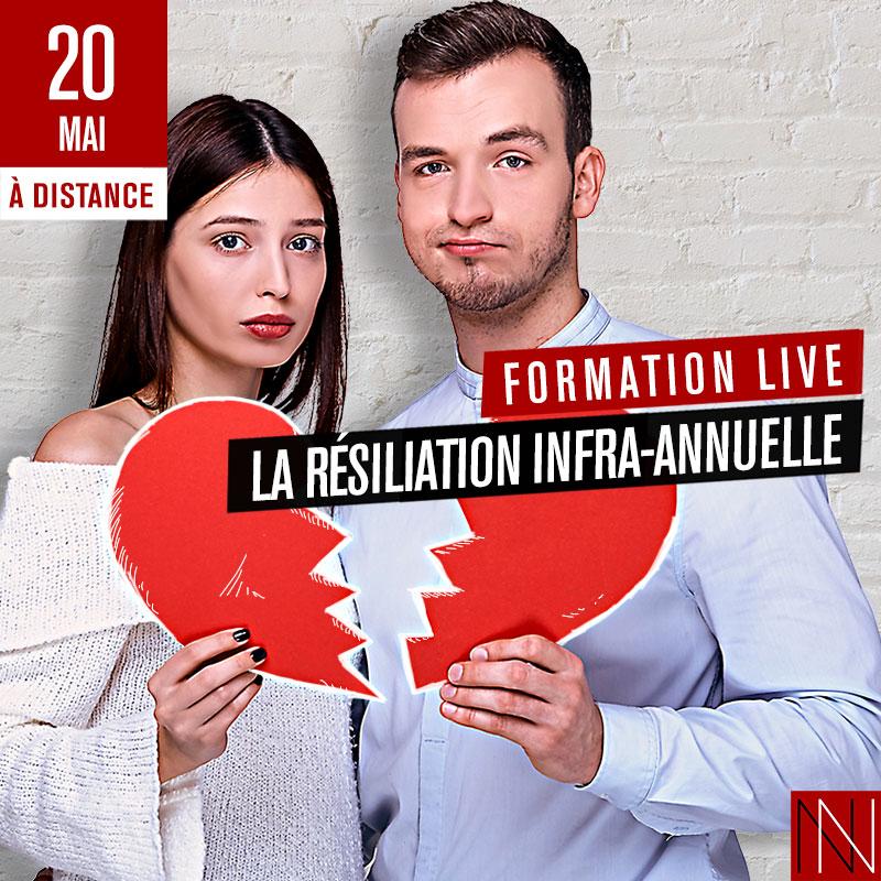 ANNIE - Formation Live : La Résiliation Infra-annuelle