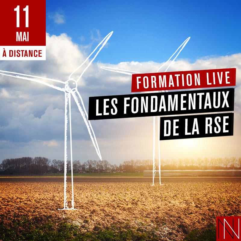 ANNIE - Formation Live : Les fondamentaux de la RSE