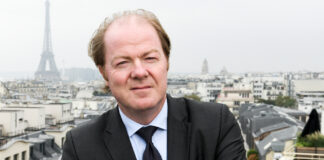 Bertrand Labilloy, PDG de CCR Re.
