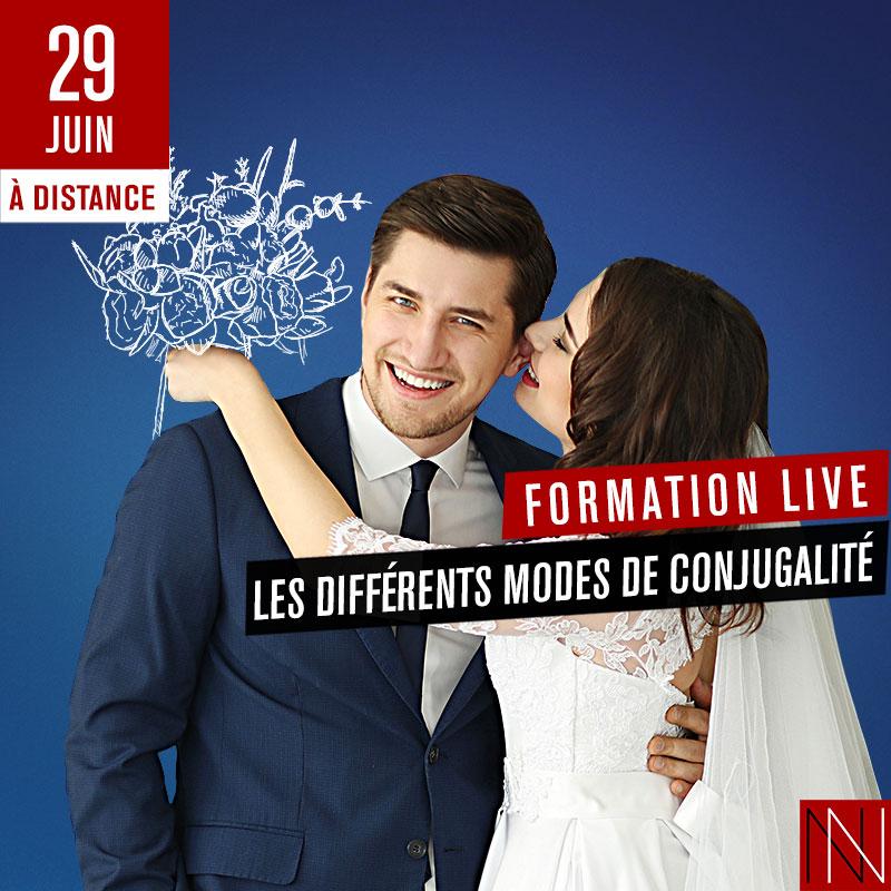 ANNIE - Formation Live : Les différents modes de conjugalité