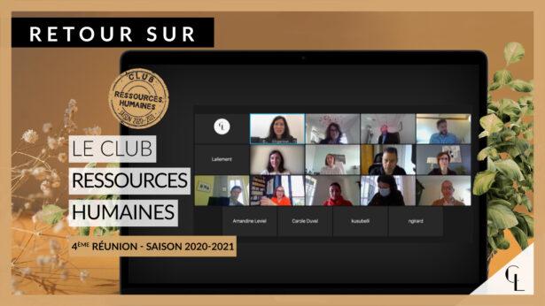 Cercle LAB : Retour sur la quatrième réunion du club RH (saison 2020-21)