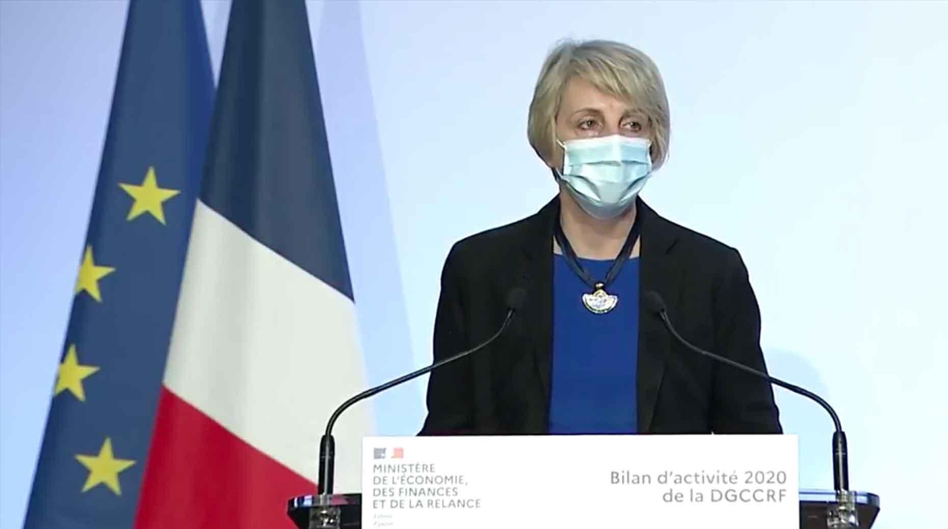 Virginie Beaumeunier, directrice générale de la DGCCRF.