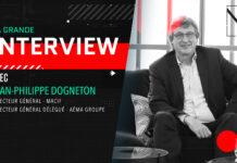 Jean-Philippe Dogneton, directeur général de Macif et directeur général délégué d'Aéma Groupe était l'invité de la grande interview de la rédaction de News Assurances Pro