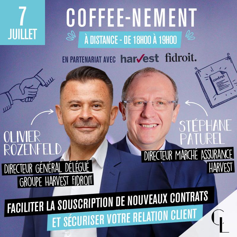 Coffee-nement - Faciliter la souscription de nouveaux contrats et sécuriser votre relation client