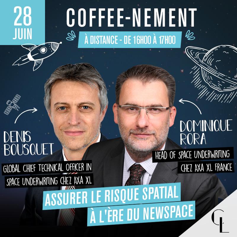Coffee-nement - Assurer le risque spatial à l'ère du Newspace
