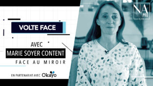 VIDEO – Marie Soyer Content face au miroir de Volte Face