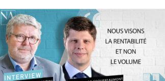 Emmanuel Morandini et Renaud de Coquereaumont respectivement directeur général et directeur général délégué de MIC Insurance Company