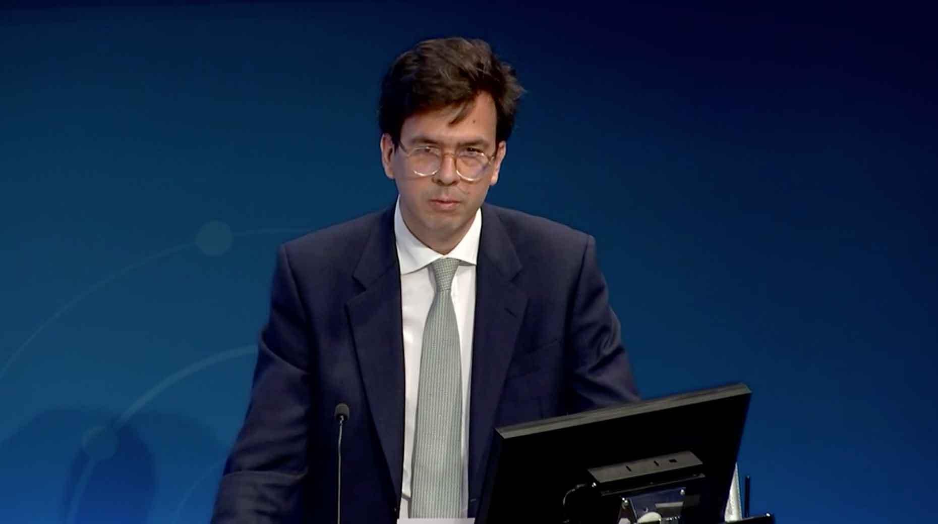 Laurent Rousseau, directeur général de Scor.