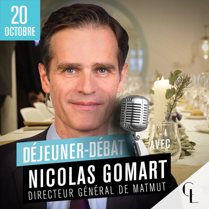 Déjeuner Débat avec Nicolas Gomart, Directeur Général du Groupe Matmut