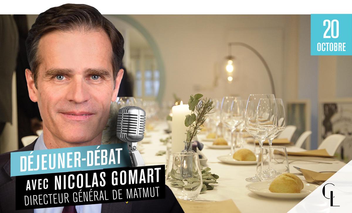 Déjeuner Débat avec Nicolas Gomart, Directeur Général du Matmut