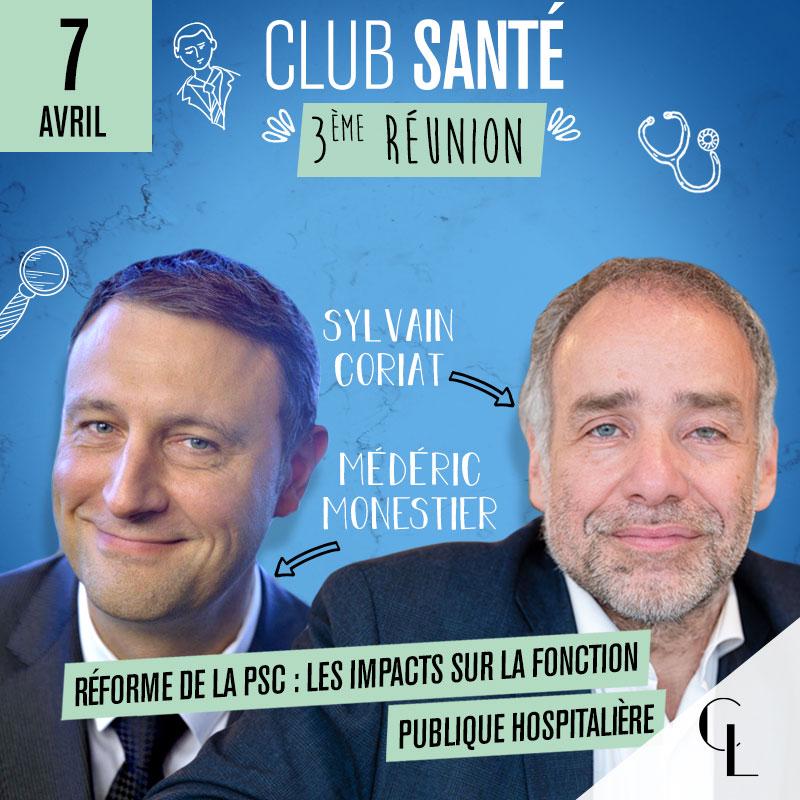 Club Santé - 3ème réunion, saison 2021 / 2022