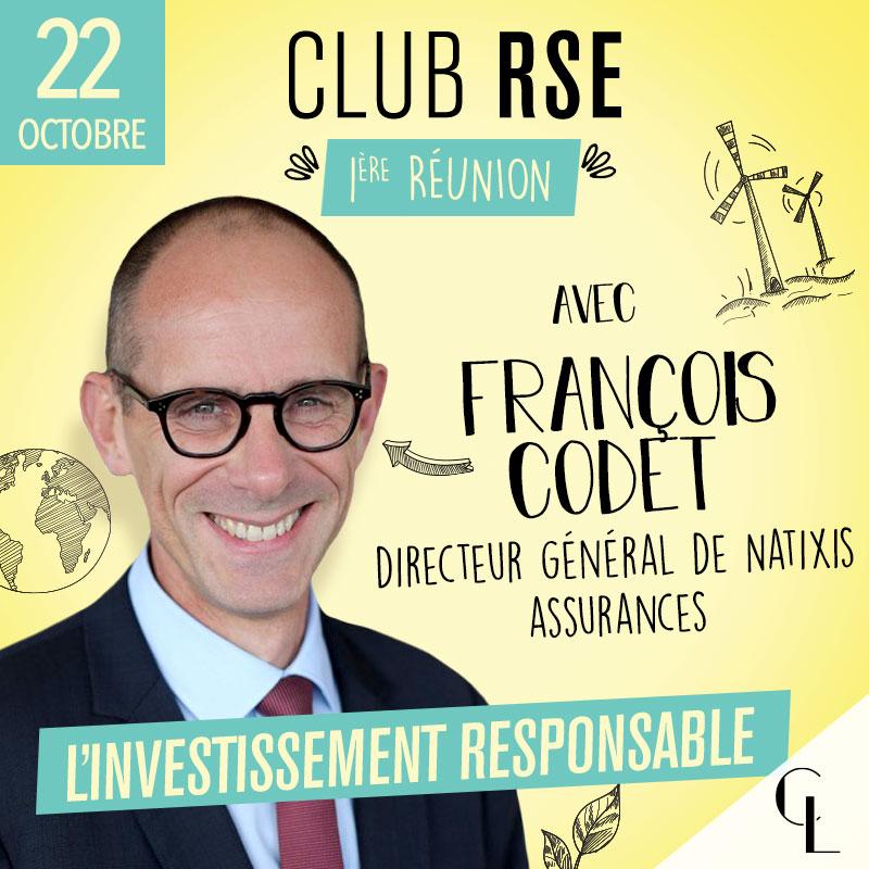 Club RSE - 1ère réunion, saison 2021/2022