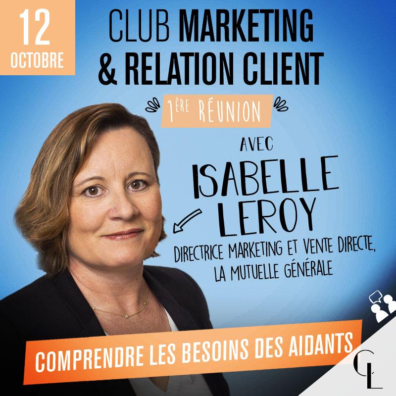 Club Marketing & relation client - 1ère réunion, saison 2021/2022