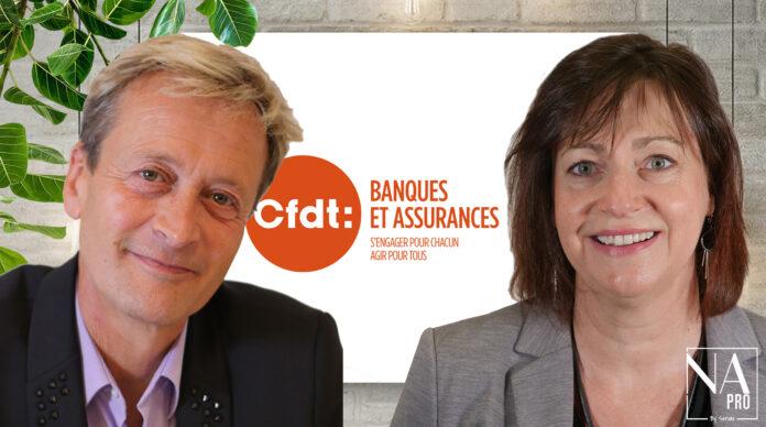 CFDT Thierry Tisserand et Béatrice Lepagnol