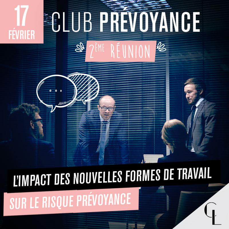 Club Prévoyance - 2ème réunion, saison 2021/ 2022