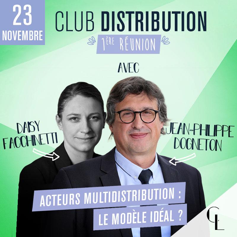 Club Distribution - 1ère réunion, saison 2021/2022