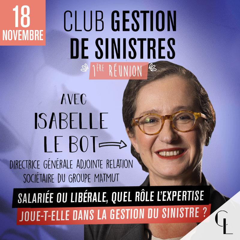 Club Gestion de Sinistres - 1ère réunion, saison 2021/2022