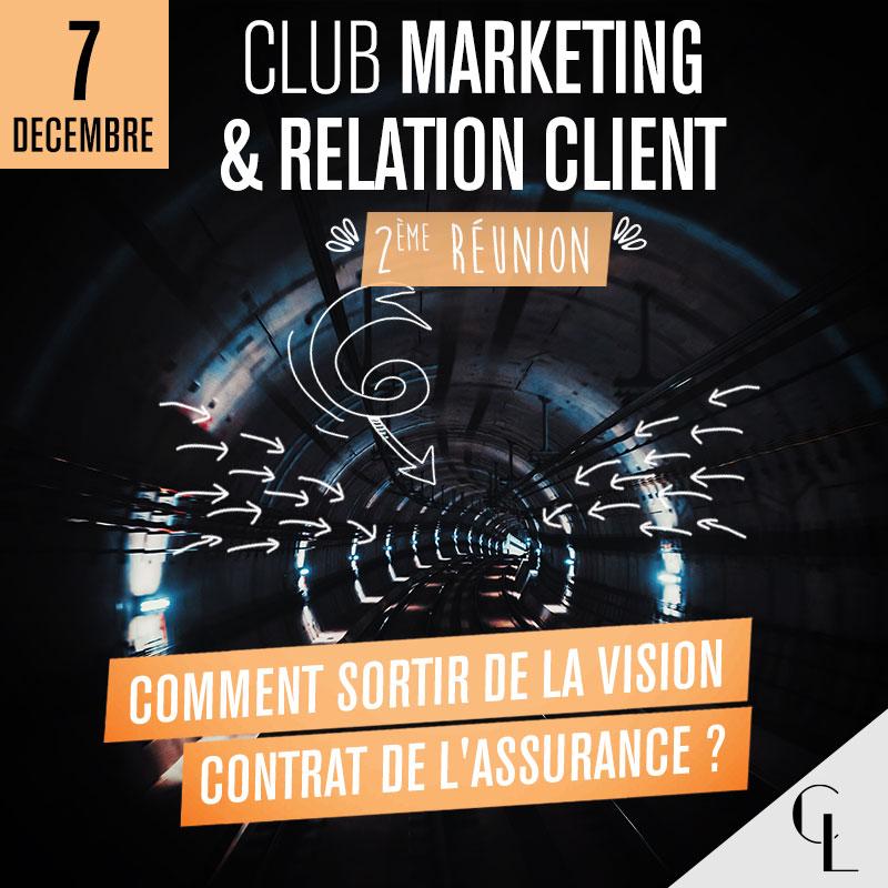 Club Marketing et Relation Client - 2ème réunion, saison 2021/ 2022