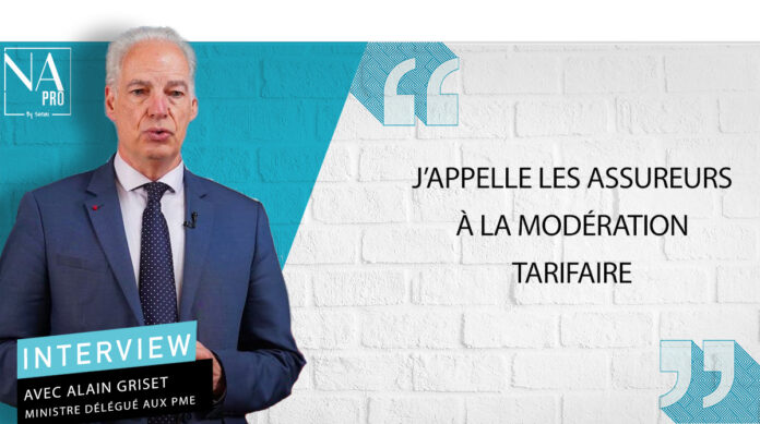 Alain Griset, ministre délégué aux Petites et Moyennes Entreprises.
