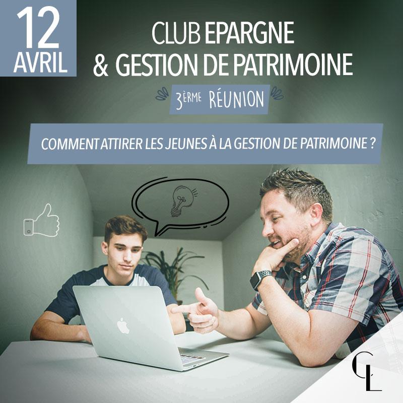 Club Epargne et Gestion de Patrimoine - 3ème réunion, saison 2021/ 2022