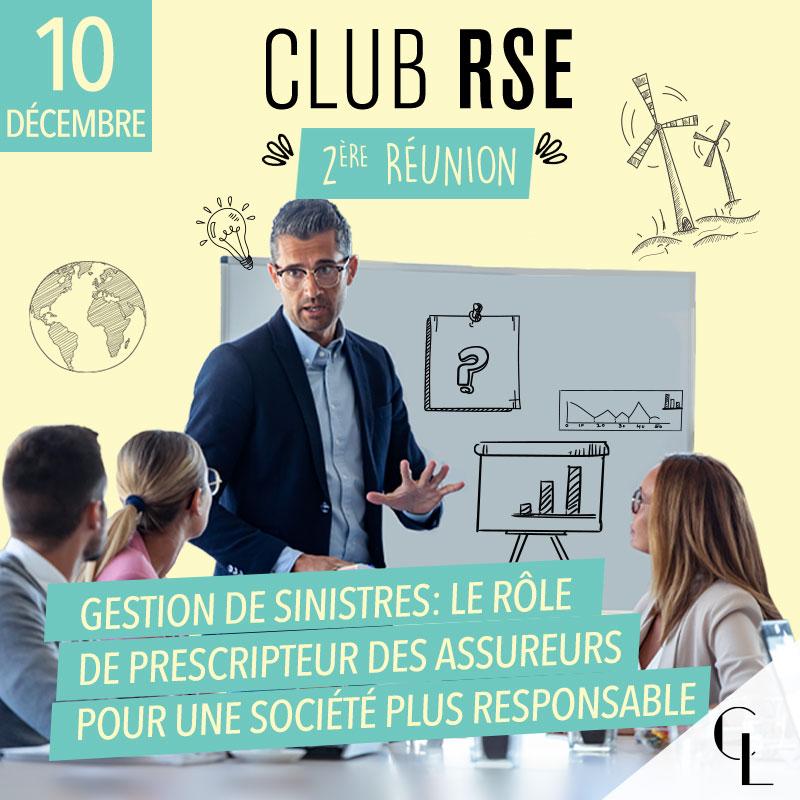 Club RSE - 2ème réunion, saison 2021/2022