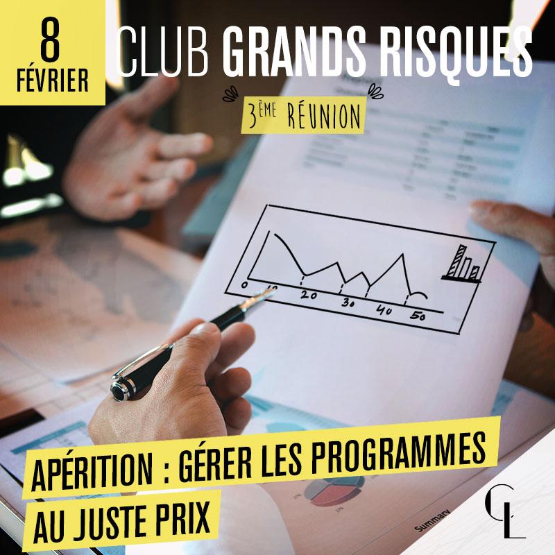 Club Grands Risques - 3ème réunion, saison 2021/ 2022