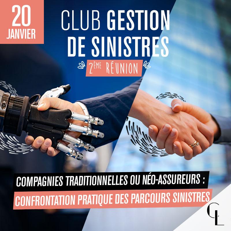 Club Gestion de Sinistres - 2ème réunion, saison 2021/2022