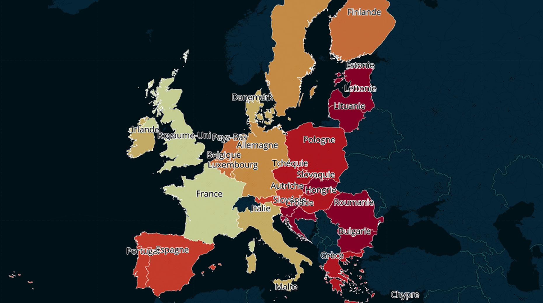 Assurance vie : Quels sont les pays européens les plus friands d'UC ?