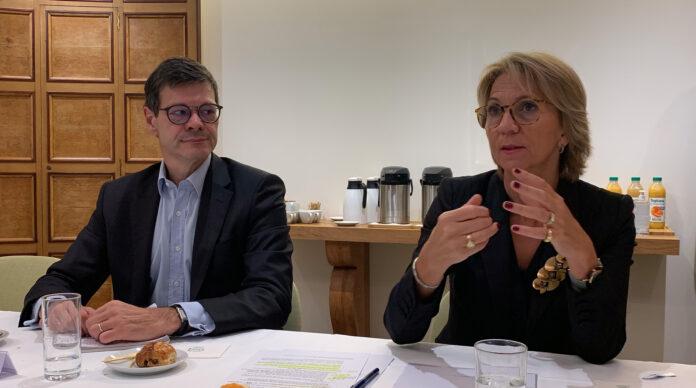 Pierre François et Florence Lustman
