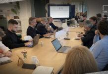La première réunion du club marketing et relation client s'est tenue le 12 octobre.