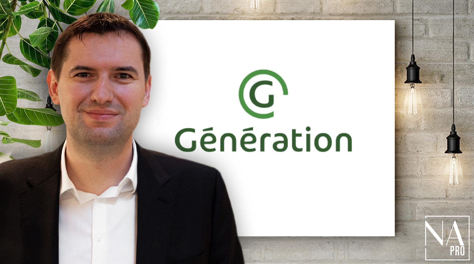 Nomination : Yoann Duclaux rejoint Génération